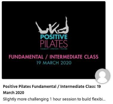 positive pilates