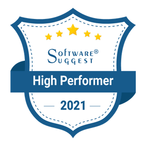 software suggest high performer badge