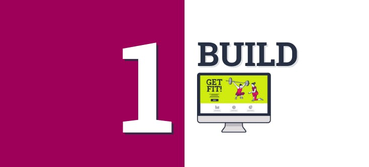 Article 1: Building a website banner