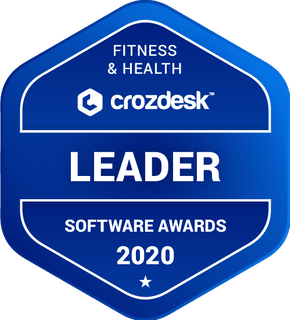 crozdesk leader badge for fitness and health