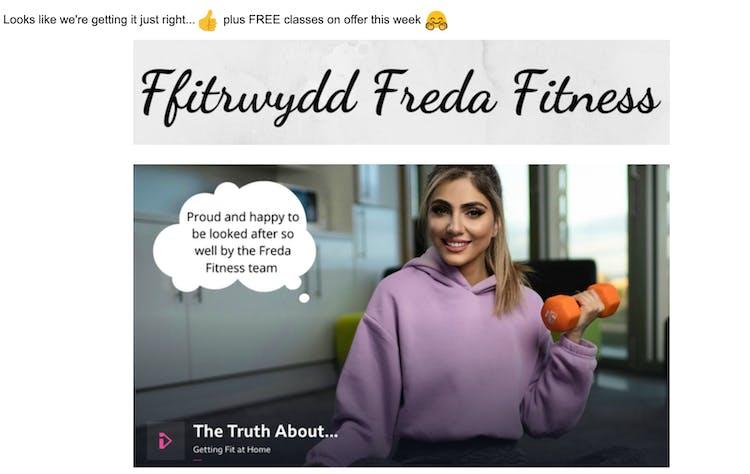 freda fitness client testimonial 2