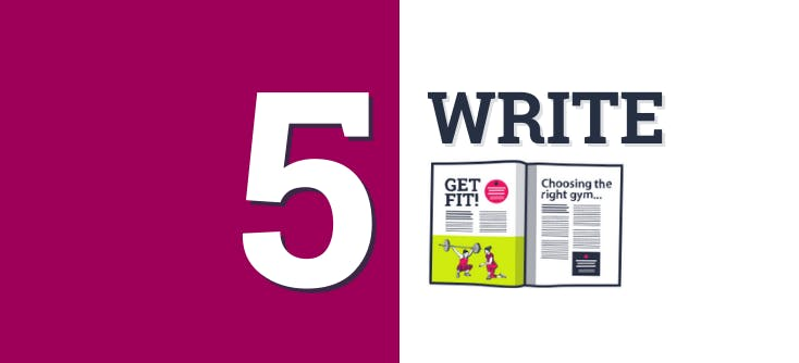 Article 5 banner and photo: Writing SEO-friendly blogs