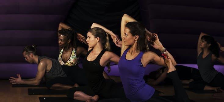 image of hotpod yoga class