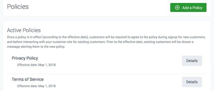 image of TeamUp's GDPR policies