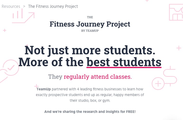 image of the fitness journey project