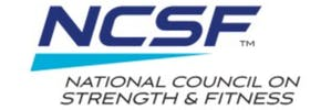 national council on strength and fitness logo