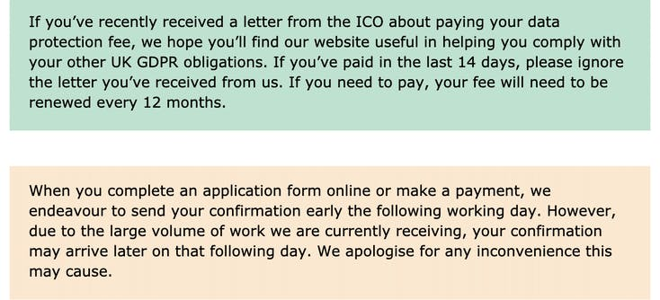 ico messages