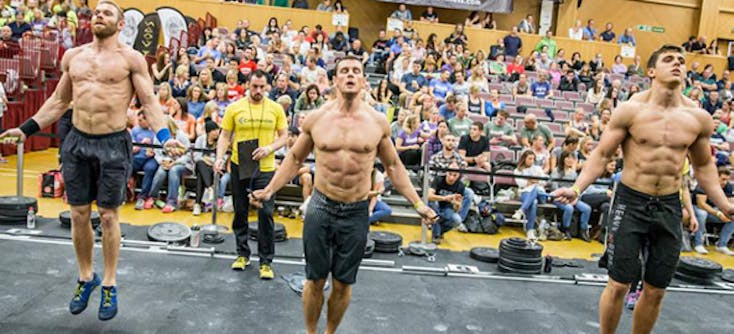 image of a crossfit competition