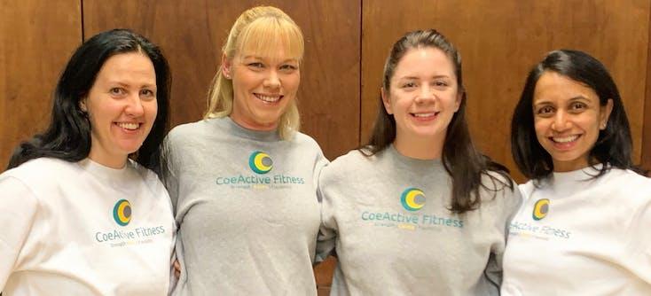 the coeactive fitness team