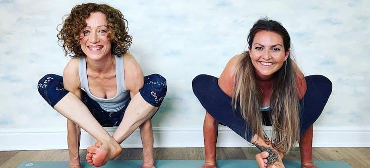 Claire Dambawinna private yoga classes