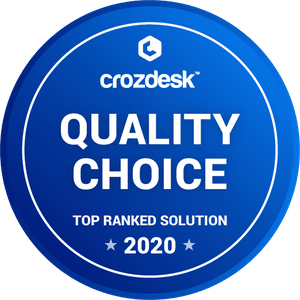 crozdesk quality and choice badge