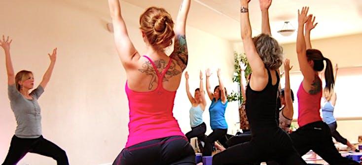 yoga class at the arlington center in arlington massachusetts