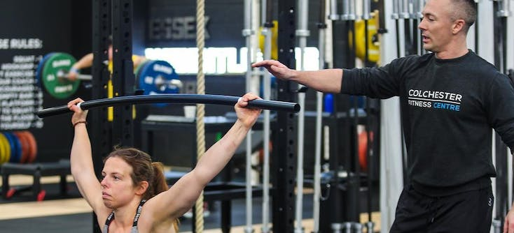 colchester fitness centre coach and clients