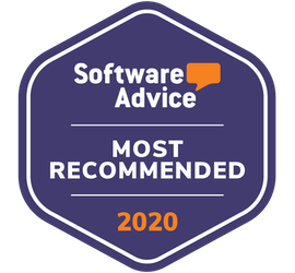 software advice badge for most recommended club management software