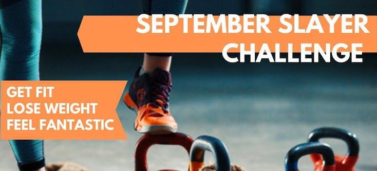 Feel Good Health & Fitness' September challenge promotion on Instagram