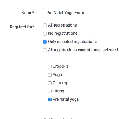 image of the registration and purchase form