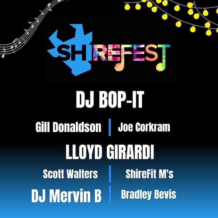 image of shirefit's dj set