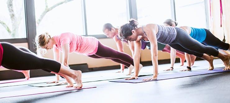 Fitness mat class