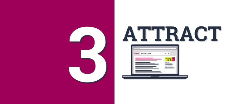 Article 3 banner: Using SEO to attract visitors to your website