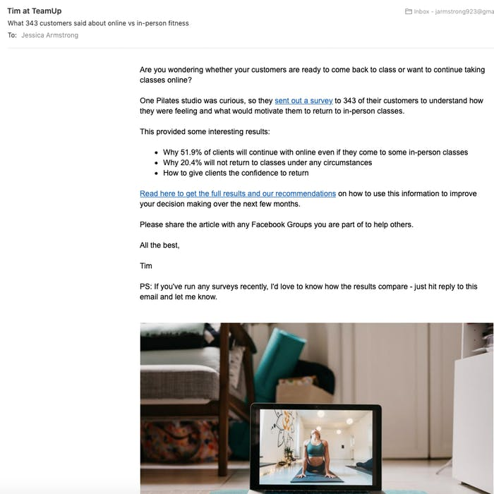 image of teamup newsletter
