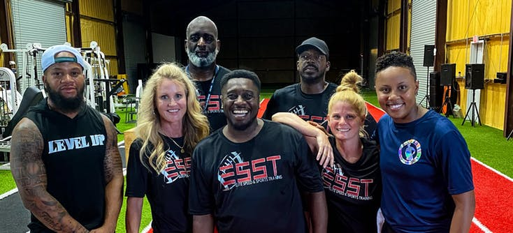 the elite speed and sports training team