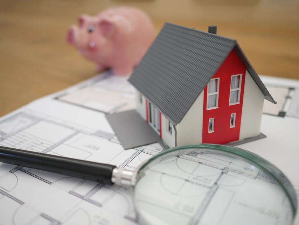Financing Stock Image Of House