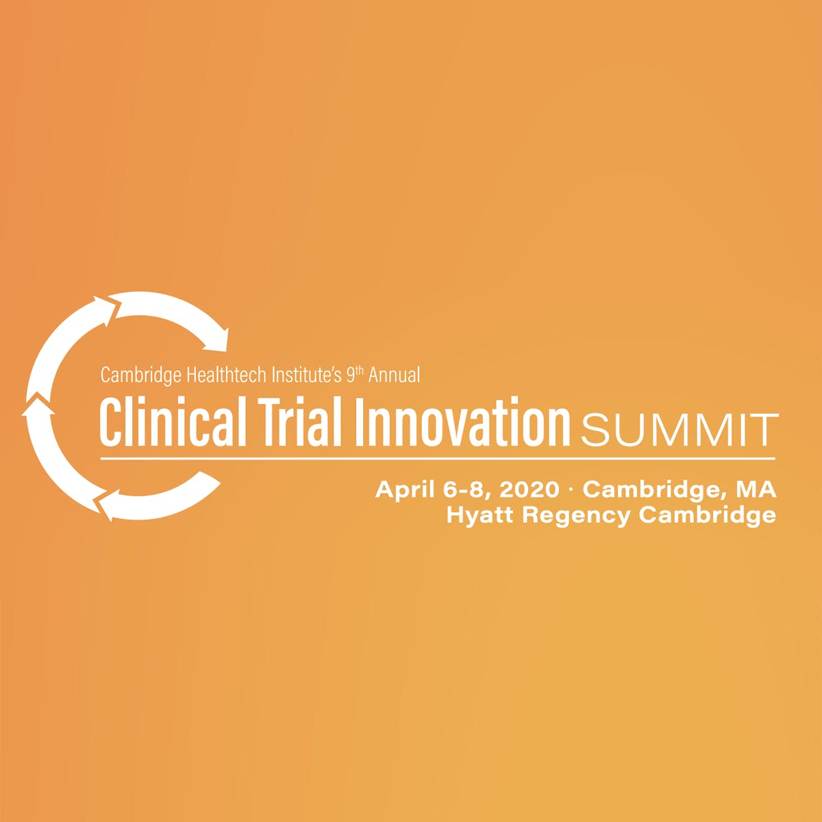 Meet Teckro at CHI's Clinical Trial Innovation Summit, April 6-8