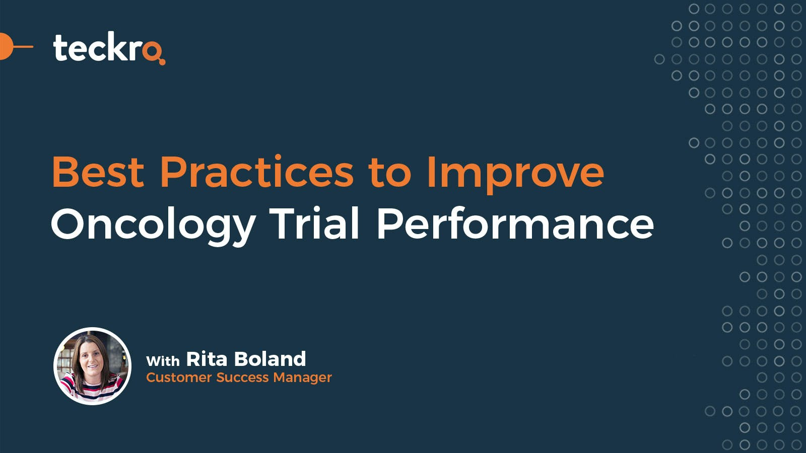 Best Practices to Improve Oncology Trial Performance