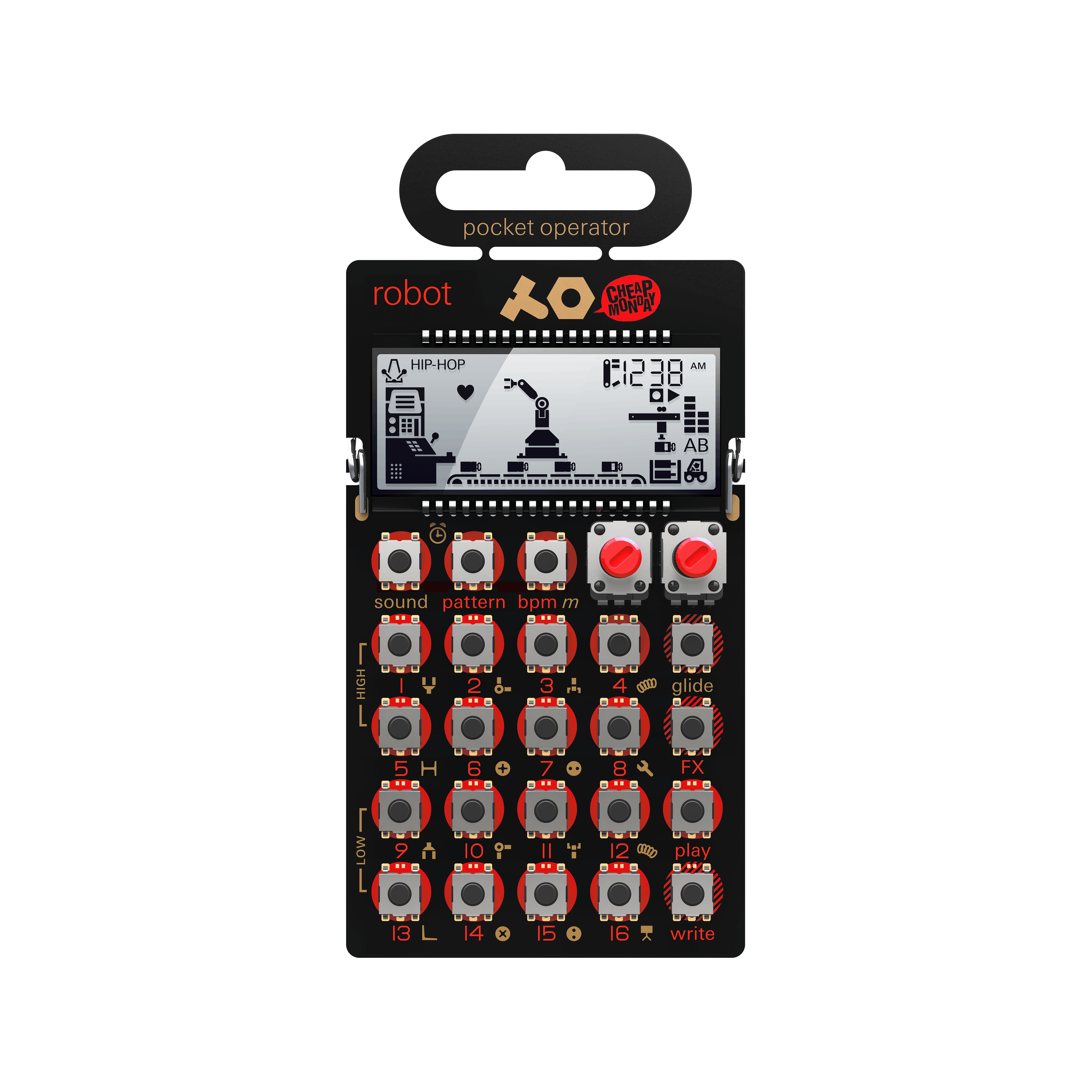 Teenage Engineering CA-28 Pro Case For PO-28 New JRR Shop