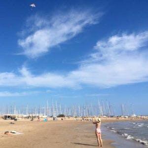 Port Ginesta beach