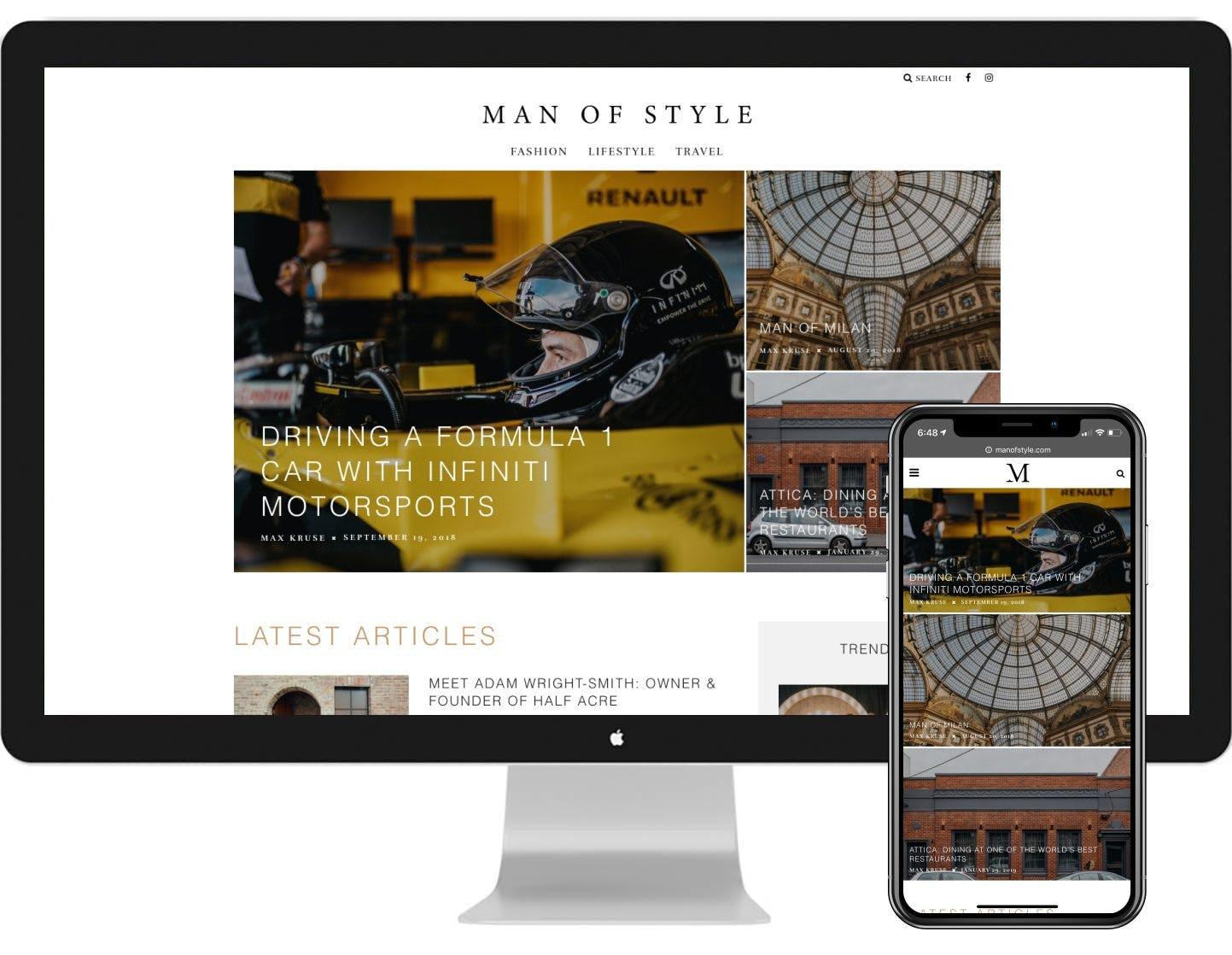 Man of Style - Tekni Creative