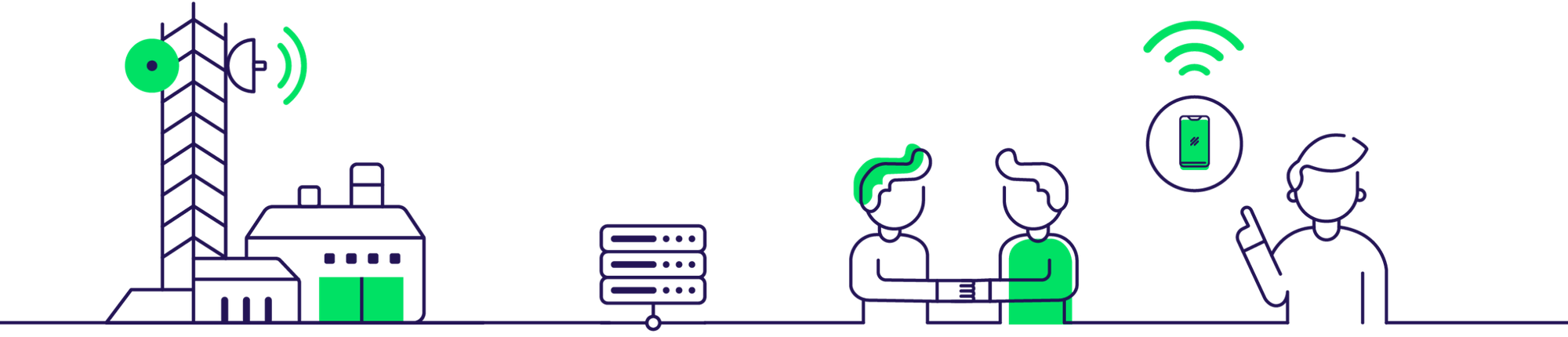 Dessin infrastructures et utilisateurs