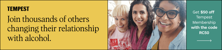 Join thousands of others changing their relationship with alcohol. Join tempest membership.