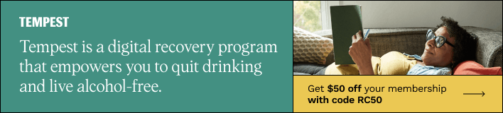 Tempest is a digital recovery program that empowers you to quit drinking and live alcohol-free.