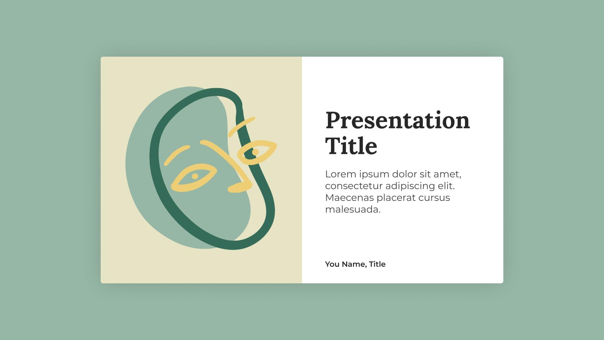Tiki Presentation Template