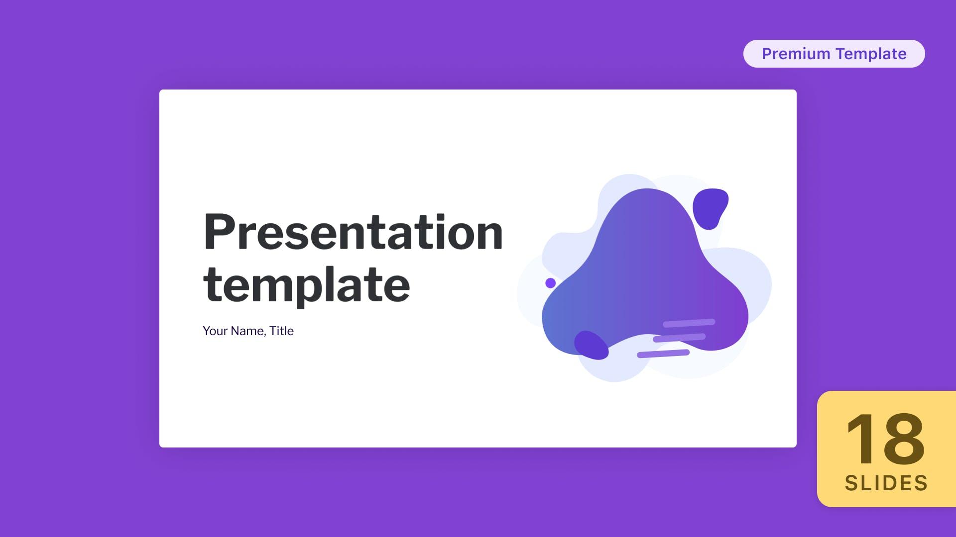 Pupa Presentation Template