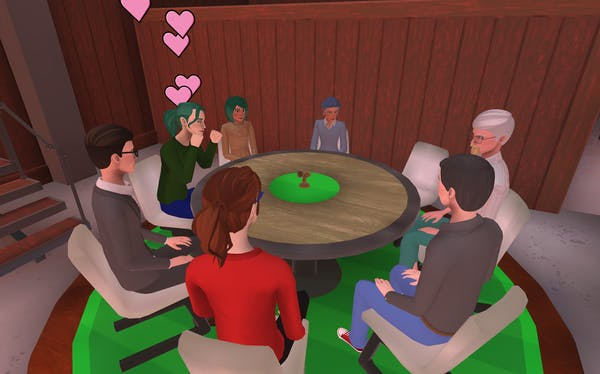 hosting birthday party in Teooh's avatar-based virtual platform