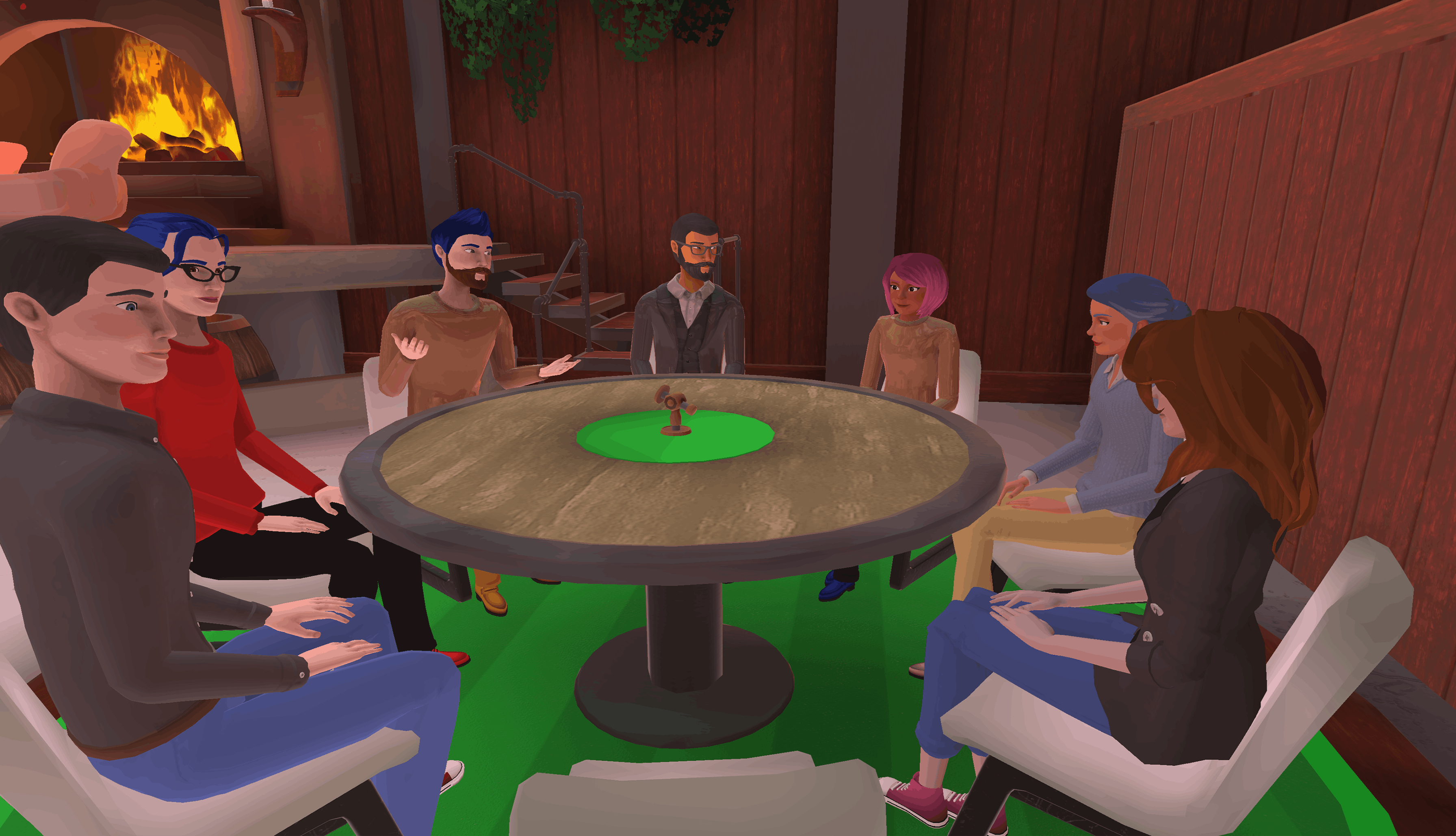 virtual happy hour in Teooh