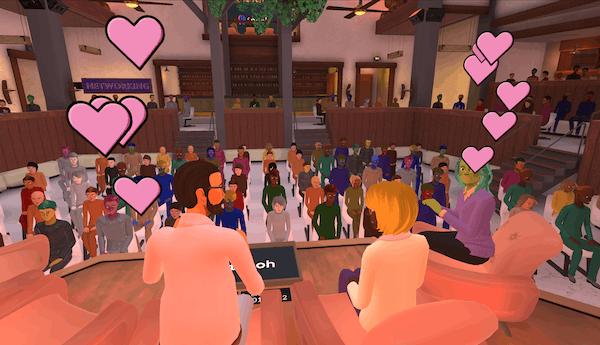 hosting book tours in Roomkey's avatar-based virtual platform