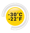 Icon for technology feature: Comfort Rated -30°C/-22°F