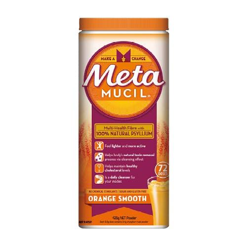 Metamucil Powder Smooth Orange 425g - 72 doses
