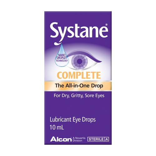 Systane Complete Lubrication Eye Drops 10ml
