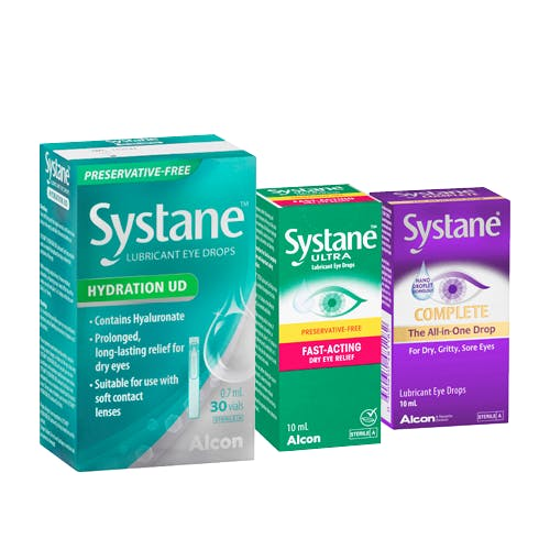 Systane Selected Range