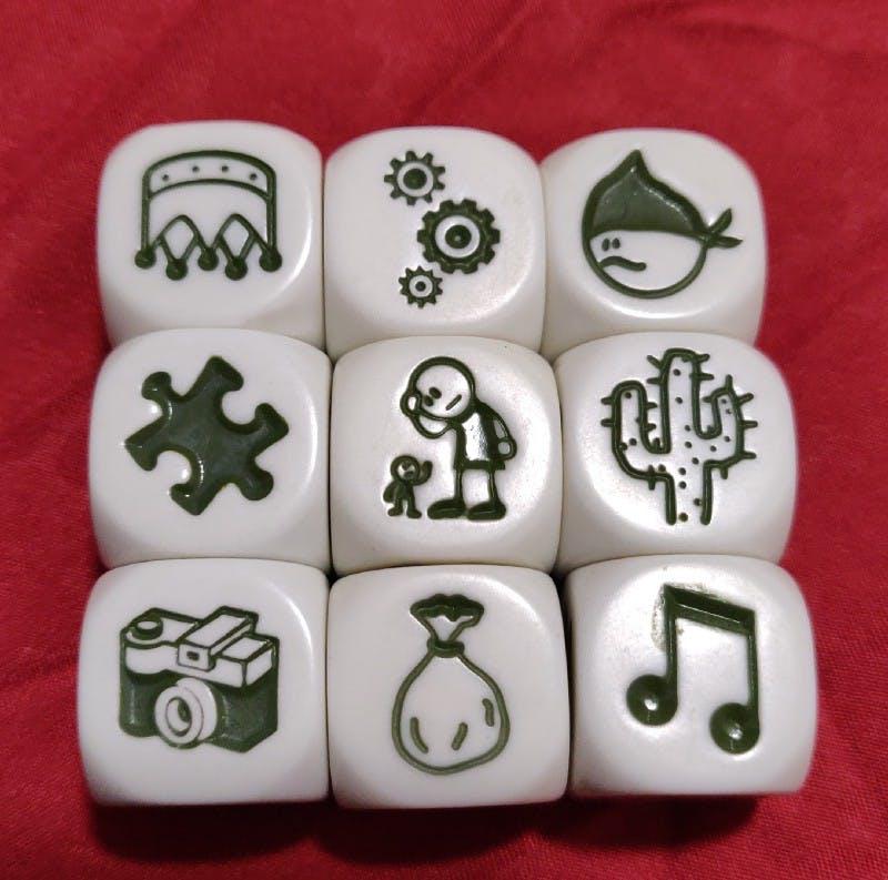 sprint retrospective tools, story cubes