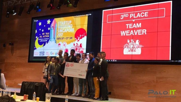 startup weekend singapore, third place