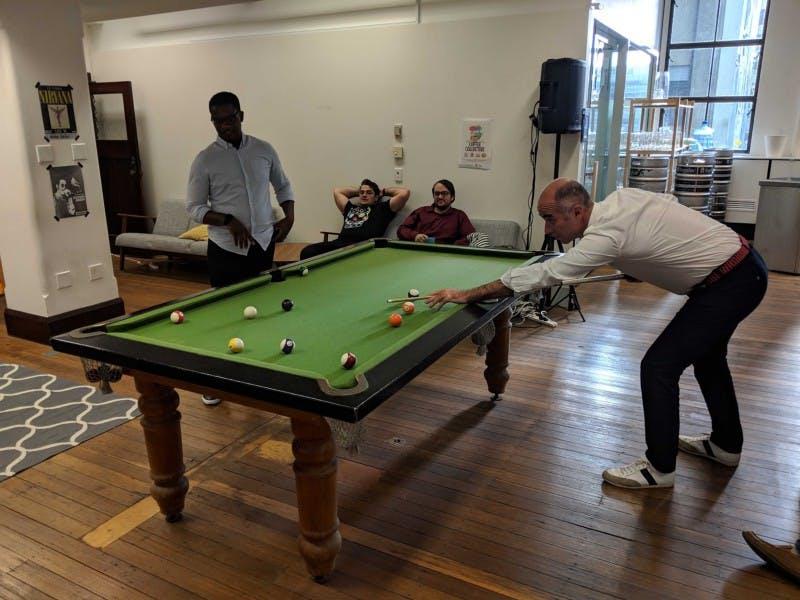 international mobility, australia, billiards