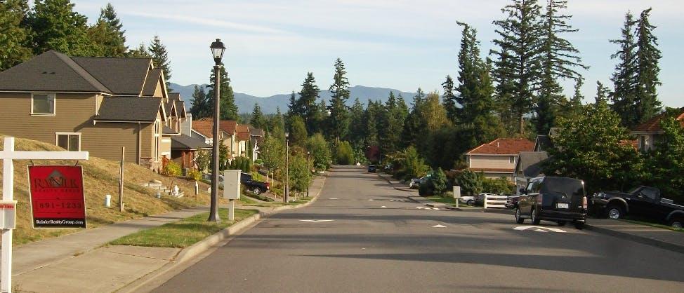 america suburbs