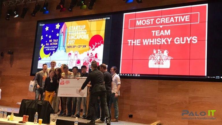 startup weekend singapore, most creative award