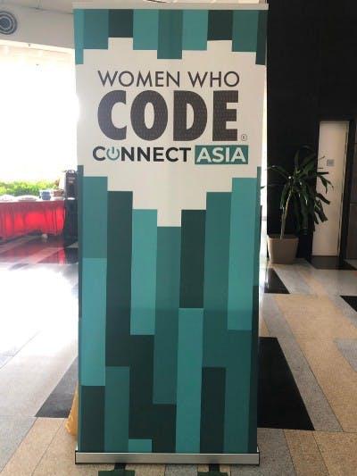 women who code, banner