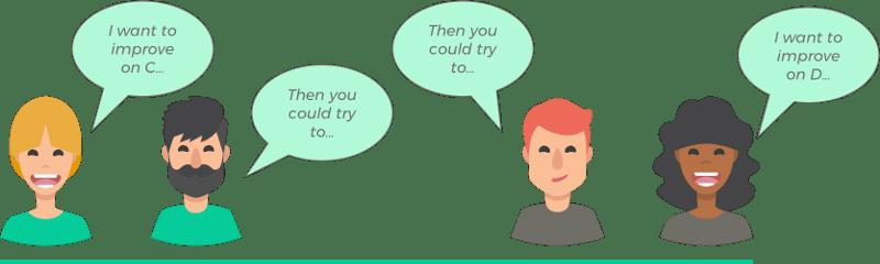 mentorship, illustration, agile project management